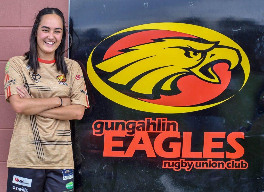 Shaneqwa Lee-Edwards Gungahlin Eagles Club Captain 2020