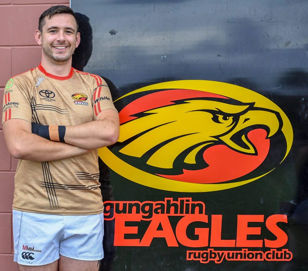 Stuart Crew Gungahlin Eagles Club Captain