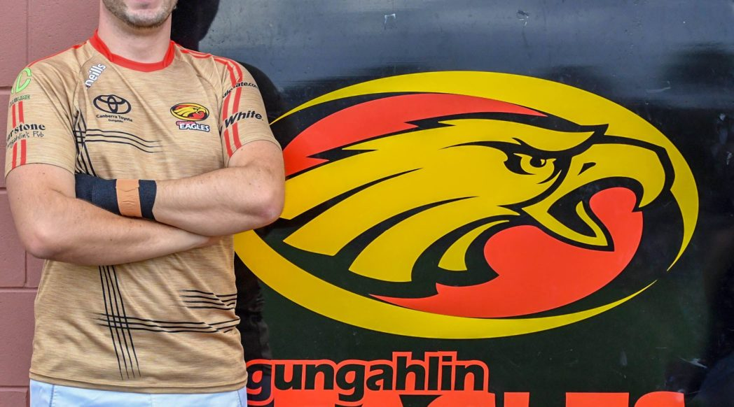 Stuart Crew Gungahlin Eagles Club Captain